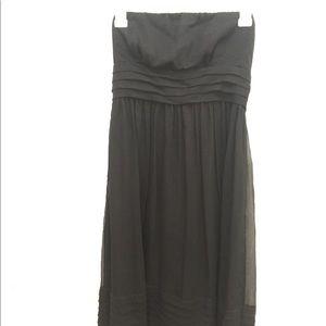 JCrew Black Strapless Dress